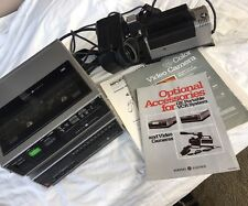 Vintage GE Color Video Camera, VHS Recorder And Tuner!