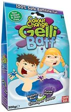 Colour Changing Gelli Baff 300g 1 Use Ballistic Blue Bath Zimpli Kids