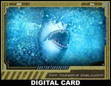 Topps Star Wars Card Trader CLONE WARS BOX GOLD Riff Tamsons Onslaught!