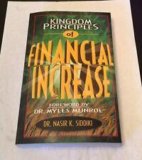 Kingdom Principles of Financial Increase by Nasir Siddiki (2001, Paperback,