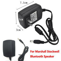 For Marshall Stockwell Bluetooth Speaker Adapter Power Supply Charger Cable 30W