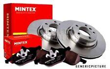 MINTEX REAR BRAKE SET DISCS, PADS CITROEN PEUGEOT MDK0206