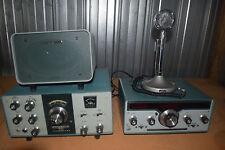 heathkit hw-101 ssb transceiver hr-1680 ssb/cw receiver astatic d-104 sb-600 pwr