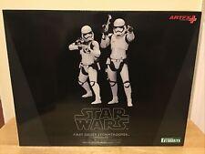 Kotobukiya Star Wars First Order Stormtrooper Two Pack Artfx+ Pre-Painted Model