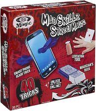 MAD SKILLZ STREET MAGIC 40 TRICKS KIDS MAGIC SET