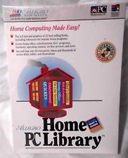 Vintage Sealed Software: Allegro Home PC Library, 1994 on CD-Rom, Win 3.1/MS-DOS