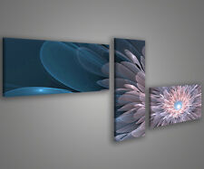 Quadri moderni astratti 180 x 70 stampe su tela canvas con telaio MIX-S_78