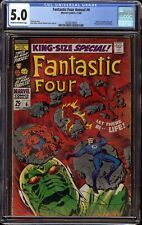 Fantastic Four Annual # 6 CGC 5.0 CRM/OW (Marvel, 1968) 1st appearance Annihulus