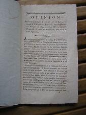 Opinion prononcée par Ant. Français dans l'assemblée de l'Isère l'an 1793