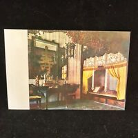 Vintage Post Card Empress Dowager Ci Xi's Bed Chamber Palace Joy Longevity China