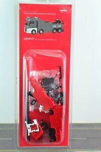 Herpa 013581 MAN TGX XLX Wrecker - Tow Truck MINI KIT RED 1:87 HO Scale