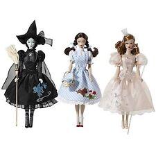 Barbie Vintage Retro Wizard Of Oz Glinda Dorathy Wicked Witch Doll Set **NEW**