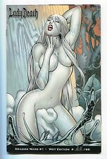 Lady Death Dragon Wars #1 Wet NAUGHTY Variant Joe Bennet Cover Signed Pulido /69