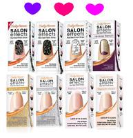 BOGO 50% ~ SALLY HANSEN Salon Effects 16 Nail Polish Strips Color File & Buffer!