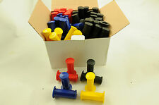 WHOLESALE JOB LOT 40 PAIRS KIDS BIKE,TRIKE, 22.2mm HANDLEBAR GRIPS ASST COLS