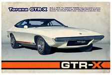TORANA GTR-X CONCEPT CAR  Rustic Tin Sign  20 x 30 cm