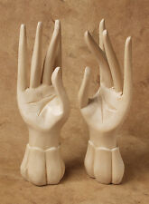 Pair of Standing Wooden Hands - Approx 8 Inches in Length