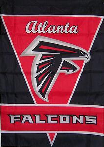 """NEW 28""""x40"""" ATLANTA FALCONS GARDEN BANNER FLAG"""