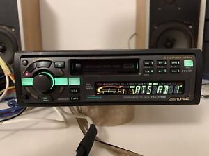 Alpine TDA-7659R tuner/cassette deck top of the line