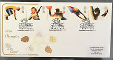 GB QEII 1996 Olympics Cotswold FDC Crystal Palace Centenary SHS With Insert