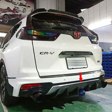 Carbon Fiber For Honda CR-V CRV 5th Add-on Rear Bumper Diffuser 5PCS