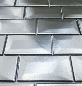 Libra Aluminium Brick Mosaic Tiles Sheet For Walls Floors Bathrooms Kitchen