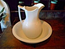 Alfred Meakin Antique Pitcher Bowl Wash Basin Pre 1897 Royal IronStone China