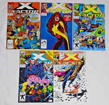 X-FACTOR #41 48 77 78 79 * Marvel Comics Lot * 5 Comics - X-Men Phoenix