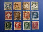 LOT 609 TIMBRES STAMP DIVERS ROYAUNE BAVIERE ALLEMAGNE ANNEE 1849-1920