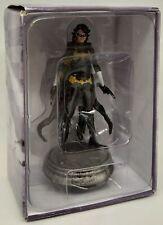 DC Batman Set Chess Eaglemoss Black Bat White Pawn No Mag