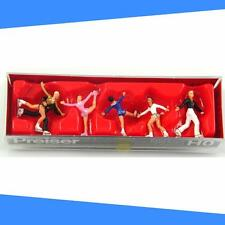 Figure Skaters Recreation & Sports Preiser 10314 Ho Scale