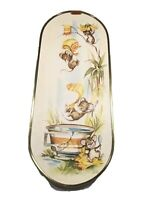 Vintage Ecstasy Canada Giftware Happy Mice Jump In BathSigned Coby Wall Hangings