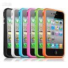 Templado Cristal Parachoques Protección anti-explosiones Funda para Apple iPhone