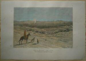1881 Reclus print KYZYL KUM DESERT, CENTRAL ASIA (#34)