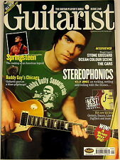 GUITARIST MAGAZINE September 2003 Stereophonics Springsteen Buddy Guy BOSS Korg