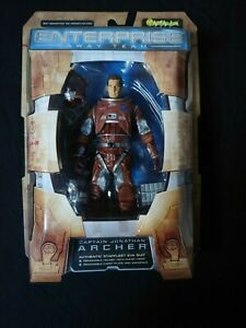 Captain Jonathan Archer STAR TREK ENTERPRISE Art Asylum Away Team
