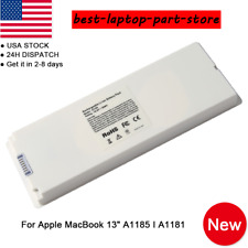 "OEM A1185 Battery For Apple MacBook 13"" A1181 55WH New Rechargeable"
