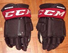 Arizona Coyotes Jordan Martinook game-worn Ccm Pro gloves name on cuffs 2016-17
