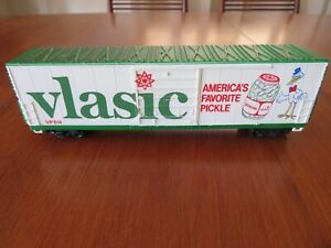Vintage Life Like HO Scale #614 - 50' Vlasic Billboard Advertising Box Car
