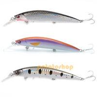 Pike Fishing Hard Lure Sinking Bait 11cm Popper Minnow Strong #6 VMC Hook Perch