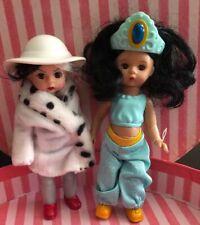 McDonalds Happy Meal Madame Alexander Disney Wendy As Cruella De Vil & Jasmine