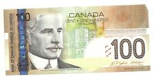2004 Paper One Hundred Canadian Dollar Bill