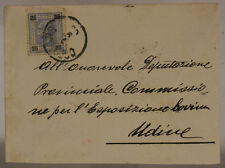 STORIA POSTALE/POSTAL HISTORY AUSTRIA 25 HELLER 1903 UDINE #SP667