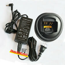 PMLN 5228 Cargador rápido para Motorola CP185 EP350 CP476 CP477 P185 CP1660 Radio