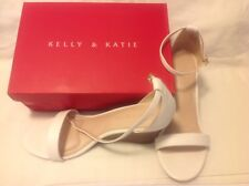 Womens White  Wedge Shoe Size 11 by Kelly & Katie