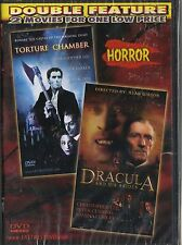 DRACULA AND HIS BRIDES & TORTURE CHAMBER~DOUBLE FEATURE NEW DVD~JOANNA LUMLEY