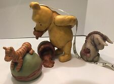Classic Winnie The Pooh Eyeore Tigger Charpente Disney Figures Large size heavy!