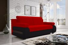Brand New Modern Fabric Sofa Bed / Couch - GRAND