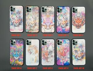 For OPPO Find X2/Find X2-Pro/Find X2 Lite TIGER ARTS Case Customized Cover