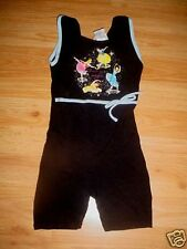 GIRLS DANCE ICE SKATING GYMNASTICS OUTFIT DRESS-XS-4-5